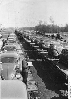 VW's factory This is a cool picture..... VW Beetle