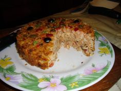 Pastel arroz y atun 1