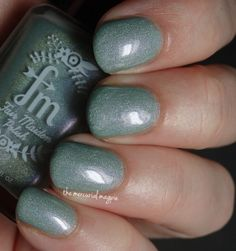 Brand: Fair Maiden Polish // Collection: Garden Party (2015) // Color: Mint Succulent // Blog: The Mercurial Magpie