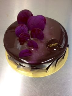 Chocolate chocolate entremet #nlc #pastries #normanloveconfections