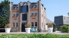 Brasserie Meelfabriek Zijlstroom in Leiderdorp, The Netherlands: Restaurant in an old flour factory