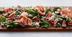 Prosciutto and Fig Salad Board via @PureWow