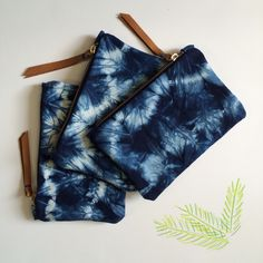 The time to order made-to-order items for Christmas has passed  but there are plenty of items in stock that can be shipped next day like the Indigo Wallet for $40. Available on www.katrinreifeiss.com #brooklynmade #happy #indigo #holidaygifts