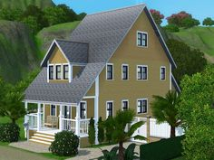 Rivera house by Dorienski - Sims 3 Downloads CC Caboodle
