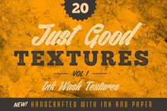 Just Good Textures v1 - Ink Washes by GraphicMonkee on @creativework247