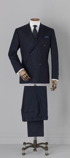 Style & Suits by American English, Savile Row, Mens Outfitters, Haberdashery, Double Breasted Suit, The Row, Men Dress, Gentleman, Street Wear