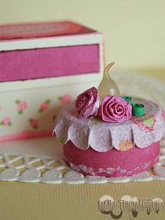 tea light birthday cake