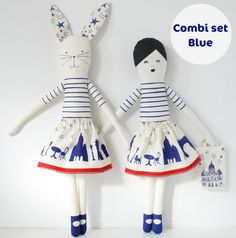 Combiset blue by mikodesign on Etsy, €30.00