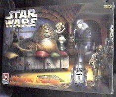 Star Wars Jabba the Hutt Throne Room ERTL Model Kit