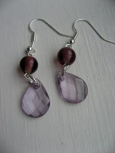 Purple Dangles