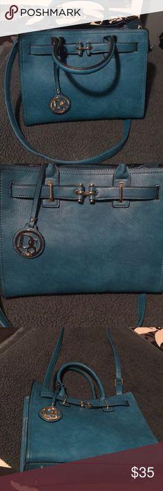 Dasein purse Blue purse cross body option Bags Shoulder Bags