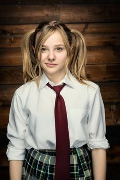Chloe Moretz as Hit-Girl #movie #kickass