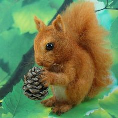 needle-felted squirrels - Google Search