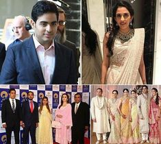 Mukesh Ambani and Nita Ambani's eldest son, Akash Ambani is getting married to Shloka Mehta, daughter of Russell Mehta, as per rumours. Nita Ambani, Big Fat Indian Wedding, Necklace Set, Getting Married, Sons, Latest Trends, Daughter, Funny, Fashion