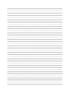Everything You Need to Learn Cursive Writing: Blank Printable Practice Sheet