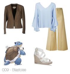 """009 - Blastoise"" by ladynightmare on Polyvore featuring moda, Mauro Grifoni, Isabel Marant e Dondup"