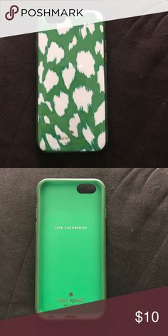 Kate Spade iPhone 6 case Used Kate Spade iPhone 6 case, some discoloration around the edges from everyday use but otherwise in great condition kate spade Accessories Phone Cases