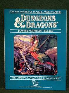 Dungeons & Dragons Players Companion Book One - 1984 - D&D TSR