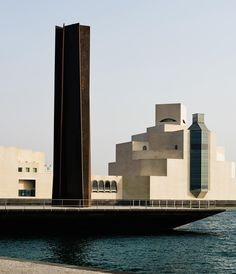 Richard Serra, 2011 sculpture '7' in Doha, Qatar