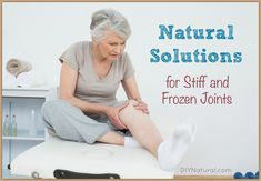 Joint stiffness can be caused by several things. Age is one--especially after sitting too long--but it's only one factor. Let's look at some natural solutions!