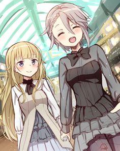 Princess Principal: Ange x Princess Lolis Anime, Yuri Anime, Anime Love, Anime Art, Female Characters, Anime Characters, Manga Drawing Tutorials, Anime Princess, Anime Style