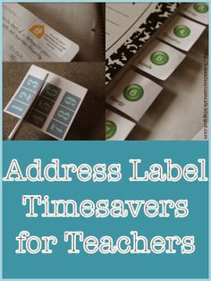 Address+Label+Timesavers+for+Teachers:+Guest+Post+from+Kate's+Classroom+Cafe