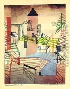 Paul Klee:Festungsbau(Fortress)