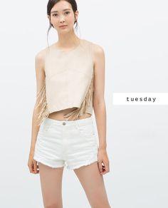 2bd7176b143  zaradaily  tuesday  shirts  shorts Just Style