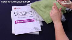 Embroidery Stabilizers 101 - Sewing Parts Online Blog