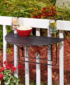 FOLDING DECK TABLE OUTDOOR PORCH PARTY PATIO SPACE SAVER GATHERING FRIENDS | Home & Garden, Yard, Garden & Outdoor Living, Patio & Garden Furniture | eBay!