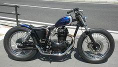 ϟ Hell Kustom ϟ: Kawasaki 250TR By Motorcycles Barn