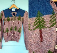 can't see the forest for the intarsia'd trees
