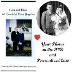 Let us transform your family photos into a movie to watch for your anniversary or give as an anniversary gift. Photo montage slideshow video.