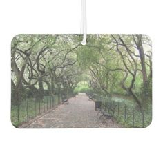 Conservatory Garden Central Park NYC Photography Air Freshener - photography picture cyo special diy
