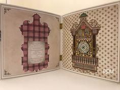 The Time Garden Coloring Book Daria Song #TheTimeGarden  #dariasong  #prismacolor premier Daddy's Cuckoo Clock