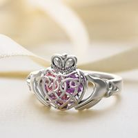 Swarovski in Sterling Silver Esty /& Me Childrens Butterfly Ring with Personalized Swarovski Simulated Birthstone, Size 4