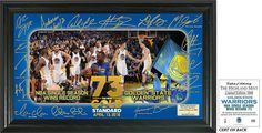 Golden State Warr... http://www.757sc.com/products/golden-state-warriors-73-win-record-signature-celebration-framed-photo?utm_campaign=social_autopilot&utm_source=pin&utm_medium=pin #nfl #mlb #nba #nhl #ncaaa #757sc