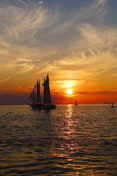 Sunset Key West by Andrew Payne, via 500px