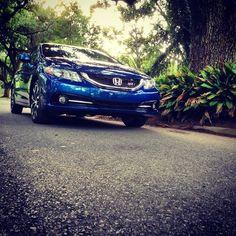 2013 Honda Civic si (dyno blue pearl) Photo by Mic Alwert July 2013