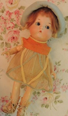 "9 1/2"" Antique Just Me Character Bisque Doll - Mold #310 - By Armand Marseille"