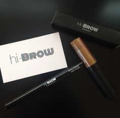My eyebrows have never looked better thanks to @hibrow_laurenprats and her perfect brow definer and mascara! My new essentials for wedding day and everyday! #hibrow