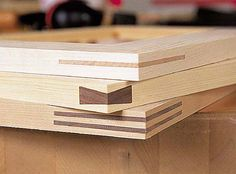 Frame miter joints are elegant, but can be difficult to cut and clamp. These jigs from Bill Hylton's Power-tool Joinery PWM column, can help.
