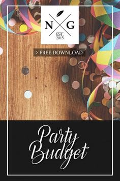 Kid's birthday parties are such fun to plan because you can let your imagination run wild. To help you budget and plan what you need for your child's birthday party we have created a FREE budget download that will help you keep track of everything you need to plan and how much it costs. Handmade Clutch, Budgeting, Birthday Parties, Stationery, Planners, Imagination, Party, Fun, Kids