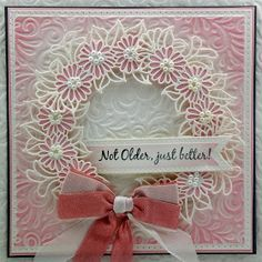 Happy Wednesday, This month the Design team for Creative Expressions are showcasing the new collection of Craft dies designed by Sue Wil...