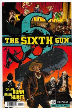 The Sixth Gun (Vol.1) #2 Oni Press Comics Cullen Bunn VF/NM