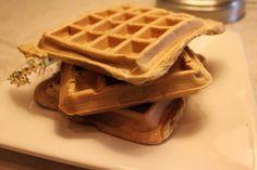 Looks like a waffle, smells like a waffle, eats like a waffle, but it's mostly egg!
