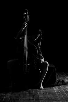 Humble Cello player  by Guy Viner