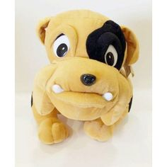 Λούτρινος σκύλος μπουλντογκ Biscuit, Balloons, Teddy Bear, Toys, Animals, Craft, Activity Toys, Globes, Animales
