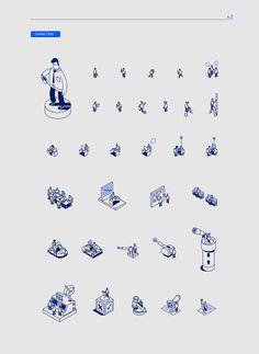 AZZURRI Corporative Illustration on Behance