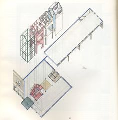 Arqueología del Futuro: 1981 Roundhouse Office Renovation [Charles Moore] ALL YOU CAN EAT ARCHITECTURE